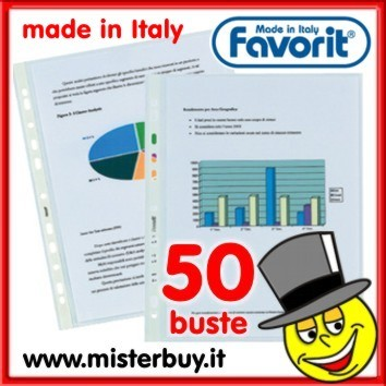 FAVORIT 50 BUSTE FORATE
